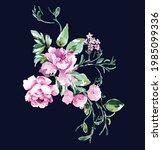 floral nature illustration... | Shutterstock .eps vector #1985099336