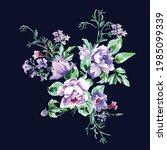 floral nature illustration... | Shutterstock .eps vector #1985099339
