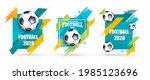 vector illustration. football... | Shutterstock .eps vector #1985123696