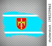 flag sibenik knin county brush...