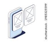 mobile device interface design...