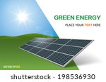 solar panel | Shutterstock .eps vector #198536930