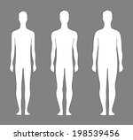 vector illustration of man's... | Shutterstock .eps vector #198539456