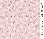 elegant paisley  pattern in... | Shutterstock .eps vector #1985427629