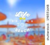 type vector design   summers... | Shutterstock .eps vector #198551648