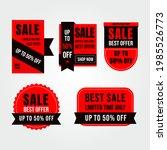 sale banner templates design... | Shutterstock .eps vector #1985526773