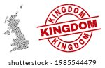 kingdom distress badge  and... | Shutterstock .eps vector #1985544479
