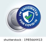 pin button badge for people who ... | Shutterstock .eps vector #1985664413