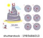 logic puzzle game for children... | Shutterstock .eps vector #1985686013