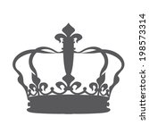 crown icons | Shutterstock .eps vector #198573314