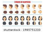 stages of male and female...   Shutterstock .eps vector #1985751233