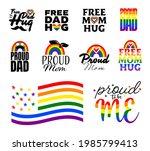 pride month logo. graphic...   Shutterstock .eps vector #1985799413