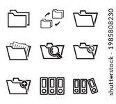 vector illustration of folder...