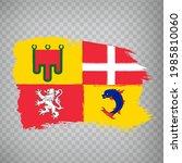 flag of auvergne rhone alpes...
