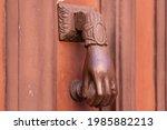 Female Hand Door Knocker....