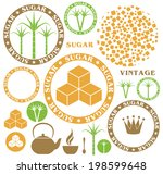 sugar. eps10 vector | Shutterstock .eps vector #198599648