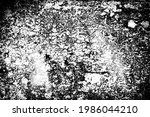 the grunge texture is black and ... | Shutterstock .eps vector #1986044210