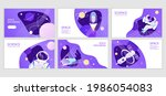 set of web banners templates.... | Shutterstock .eps vector #1986054083
