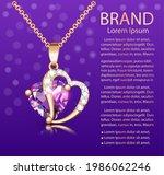 jewelry poster illustration... | Shutterstock .eps vector #1986062246