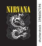 Cover Nirvana Dragon Vector...
