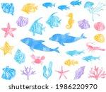 watercolor style illustration... | Shutterstock .eps vector #1986220970