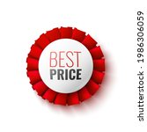best price sale banner with red ...   Shutterstock .eps vector #1986306059