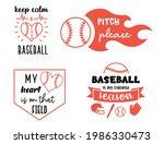 set of baseball illustrations... | Shutterstock .eps vector #1986330473