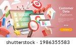 3d isometric flat vector... | Shutterstock .eps vector #1986355583