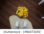Large Bouquet Of Yellow Flowers