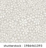 seamless floral pattern.... | Shutterstock .eps vector #1986461393