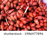 Small photo of Waive fruit in Thailand local fruit market, waive fruit background.