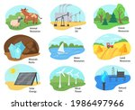 different types of natural...   Shutterstock .eps vector #1986497966