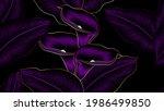 luxurious gold seamless pattern ...   Shutterstock .eps vector #1986499850
