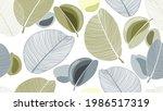 art seamless floral background...   Shutterstock .eps vector #1986517319