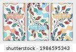 vintage set of chocolate bar... | Shutterstock .eps vector #1986595343