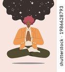 businessmen meditating in...   Shutterstock .eps vector #1986628793