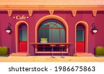 city cafe  coffee house...   Shutterstock .eps vector #1986675863