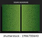 background template made green... | Shutterstock .eps vector #1986700643
