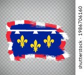 flag of centre loire valley...