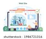 electrician online service or...   Shutterstock .eps vector #1986721316