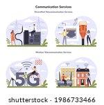 internet telecommunication...   Shutterstock .eps vector #1986733466