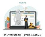 judge online service or...   Shutterstock .eps vector #1986733523