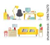 furniture   Shutterstock .eps vector #198676670