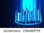 modern cityscape and...   Shutterstock . vector #1986809759