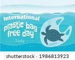 international plastic bag free... | Shutterstock .eps vector #1986813923