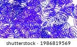 light blue  red vector texture...   Shutterstock .eps vector #1986819569