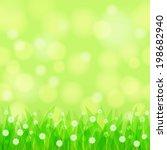 natural horizontally seamless... | Shutterstock . vector #198682940