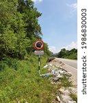 Roadside Signage At Illegal...