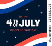 happy 4th of july american... | Shutterstock .eps vector #1986831203