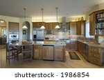 modern kitchen | Shutterstock . vector #1986854